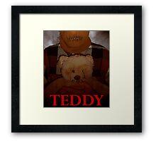 Slasher Studios - Teddy Merchandise  Framed Print