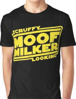 Scruffy Looking Moof Milker Graphic T-Shirt