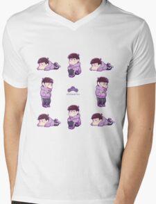 Osomatsu-san : Ichi chibi (1) Mens V-Neck T-Shirt