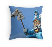 Punchinello II Throw Pillow