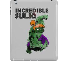 Incredible Sulk iPad Case/Skin