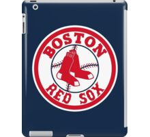 Boston Red Sox Logo Baseball iPad Case/Skin