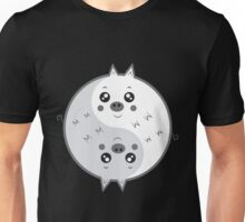 Cute pigs yin yang  Unisex T-Shirt