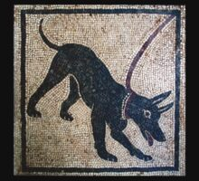Cave canem- ancient Pompeii Kids Tee
