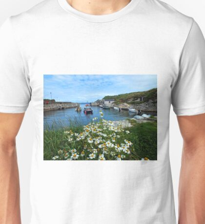 Ballintoy Harbour, Co Antrim, Northern Ireland Unisex T-Shirt