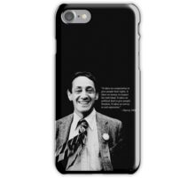 "Harvey Milk - ""Rights"" Quote iPhone Case/Skin"