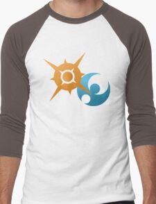 Sun And Moon Men's Baseball ¾ T-Shirt