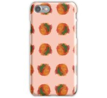 peach splash iPhone Case/Skin