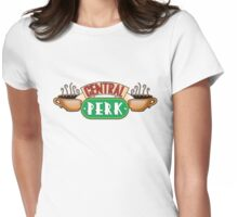 Friends - Central Perk White Variant Womens Fitted T-Shirt