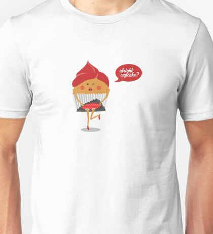 Cheeky Cupcake Unisex T-Shirt