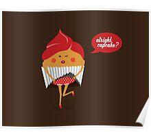 Cheeky Cupcake Poster