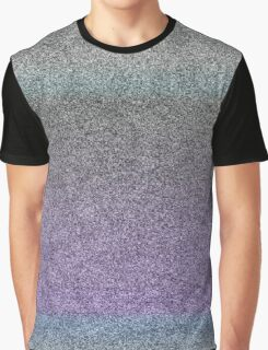 Static/Grain Graphic T-Shirt