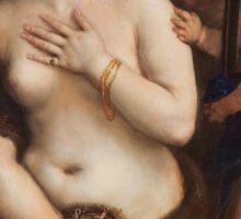 Tiziano Vecellio, Titian - Venus with a Mirror  Sticker