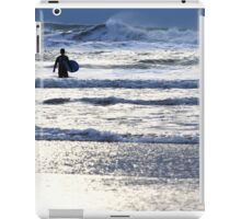 Surfglow - Freshwater West iPad Case/Skin