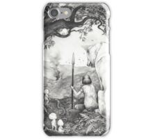 Between the roots and the branches iPhone Case/Skin