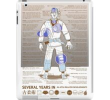 BJJ - Several Years In - Sepia iPad Case/Skin