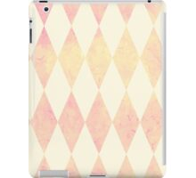Watercolor rhombus seamless pattern. Geometric background iPad Case/Skin
