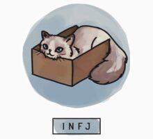 MBTI Cats: INFJ Kids Tee