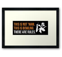 THIS IS NOT 'NAM Framed Print