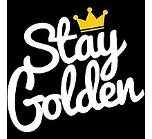 stay golden Photographic Print
