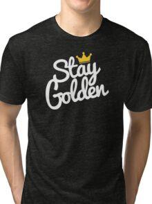 stay golden Tri-blend T-Shirt