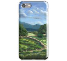 Plain of Winded Wildflowers iPhone Case/Skin