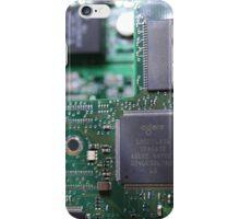 Tech in a blur iPhone Case/Skin