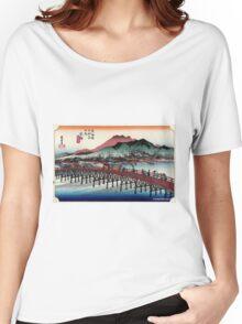 Keishi - Hiroshige Ando - 1833.tif Women's Relaxed Fit T-Shirt