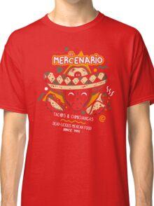 El Mercenario Mexican Food Classic T-Shirt