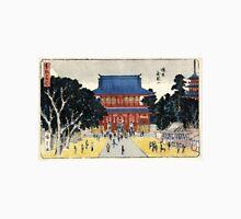 Kinryusan Temple Asakusa - Hiroshige Ando - 1837 - woodcut Unisex T-Shirt