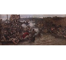 Vasily Surikov - Yermak s Conquest of Siberia  Photographic Print