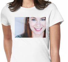 Felicia Day Womens Fitted T-Shirt