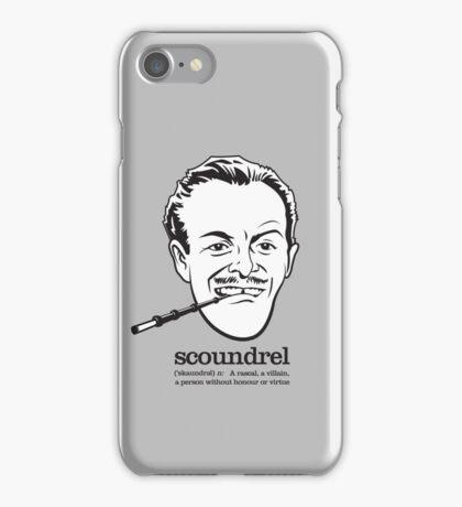 Scoundrel iPhone Case/Skin