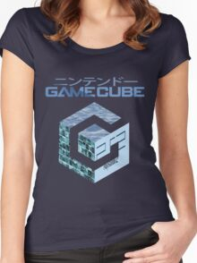 Vaporwave Gamecube Women's Fitted Scoop T-Shirt