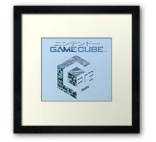 Vaporwave Gamecube Framed Print