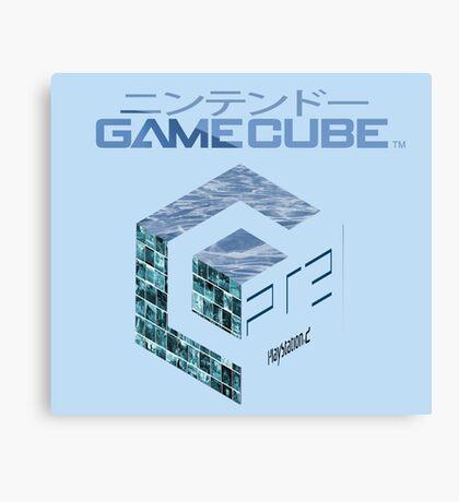 Vaporwave Gamecube Canvas Print