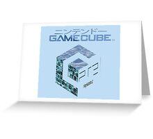 Vaporwave Gamecube Greeting Card