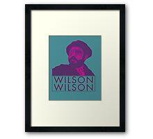 UTOPIA - WILSON x2 Framed Print