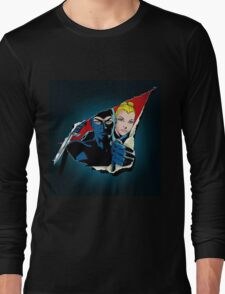 Diabolik and Eva Kant in the cut Long Sleeve T-Shirt