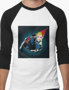 Diabolik and Eva Kant in the cut Men's Baseball ¾ T-Shirt