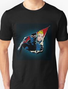 Diabolik and Eva Kant in the cut Unisex T-Shirt