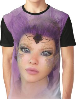 Purple Powder Graphic T-Shirt