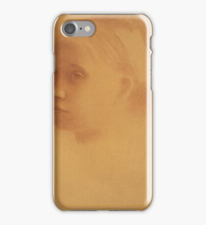 EDGAR DEGAS  - MARGUERITE DEGAS ENFANT iPhone Case/Skin