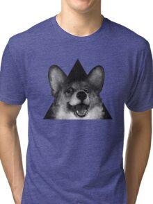 Sausage Fox Tri-blend T-Shirt