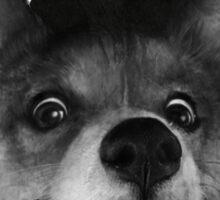 Sausage Fox Sticker
