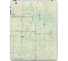Salt Lake City Map Blue Vintage iPad Case/Skin