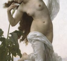 William Bouguereau  - L Aurore Dawn 1881 Sticker