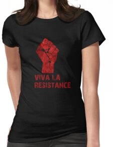 Viva La Resistance Womens Fitted T-Shirt