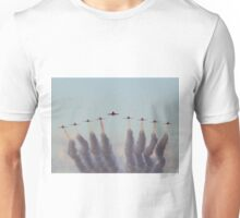 RAF Red Arrows head-on Unisex T-Shirt