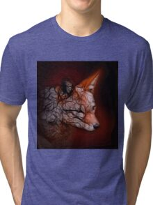 Fox Spirit Tri-blend T-Shirt